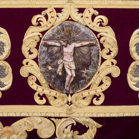 via crucis cristo amargura virgen reyes